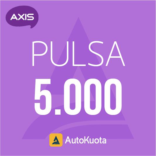 Pulsa Axis - Pulsa axis 5 ribu