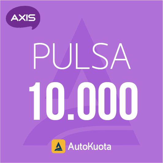 Pulsa Axis - Pulsa axis 10 ribu