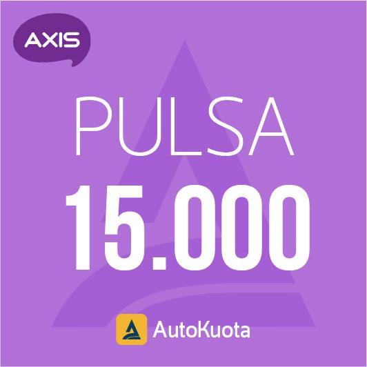 Pulsa Axis - Pulsa axis 15 ribu