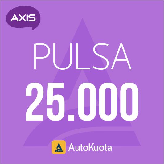 Pulsa Axis - Pulsa axis 25 ribu