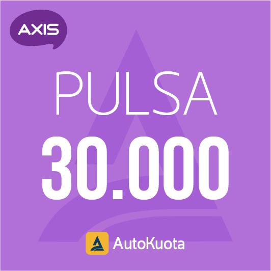 Pulsa Axis - Pulsa axis 30 ribu