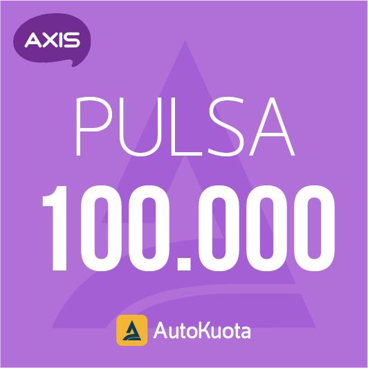 Pulsa Axis - Pulsa axis 100 ribu