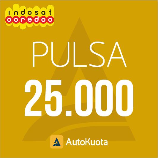 Pulsa Indosat - Pulsa indosat 25 ribu