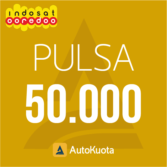 Pulsa Indosat - Pulsa indosat 50 ribu