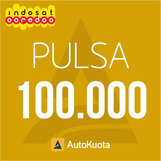 Pulsa Indosat - Pulsa indosat 100 ribu