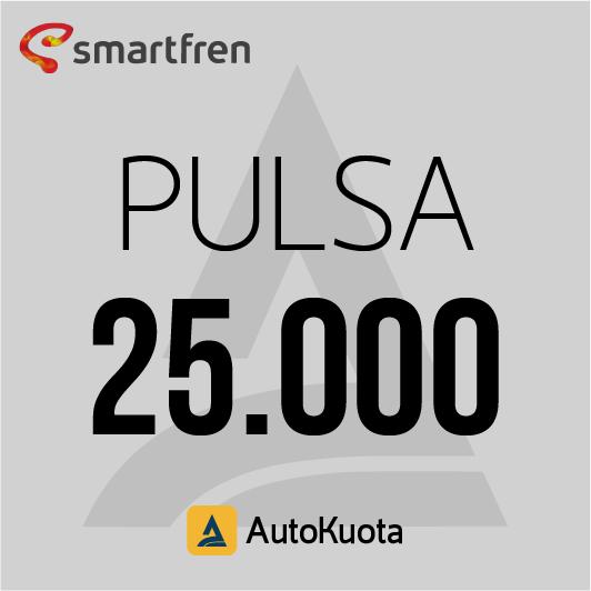 Pulsa Smartfren - Pulsa smartfren 25 ribu