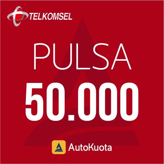 Pulsa Telkomsel - Pulsa telkomsel 50 ribu