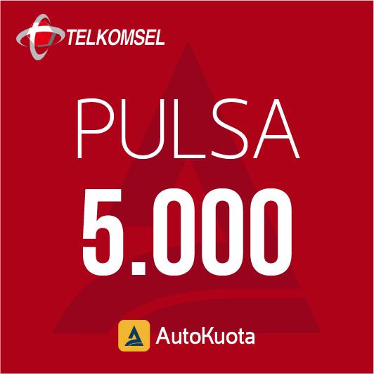 Pulsa Telkomsel - Pulsa telkomsel 5 ribu