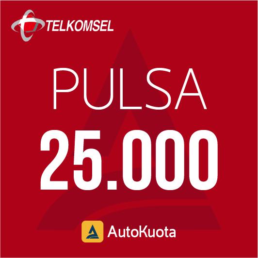 Pulsa Telkomsel - Pulsa telkomsel 25 ribu