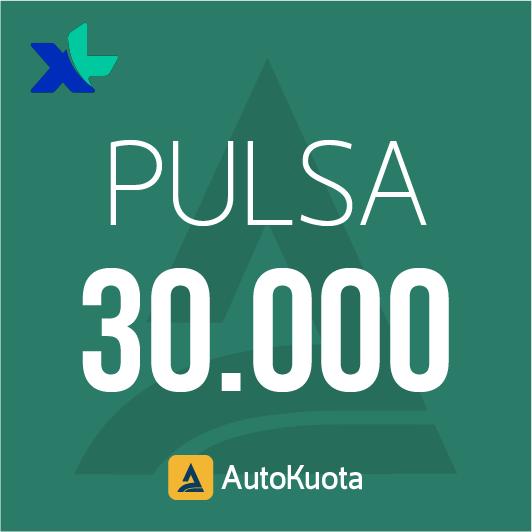 Pulsa XL - XL 30 ribu