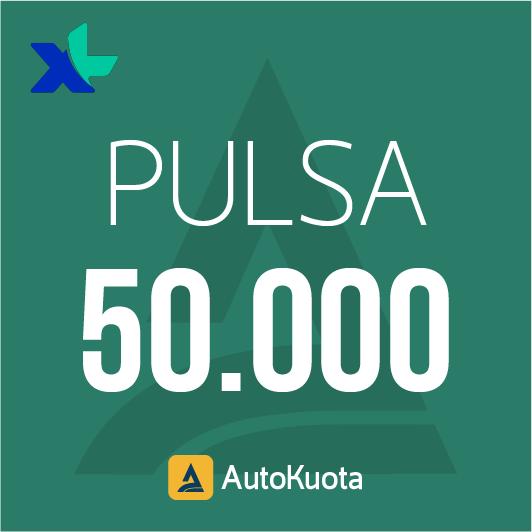 Pulsa XL - XL 50 ribu
