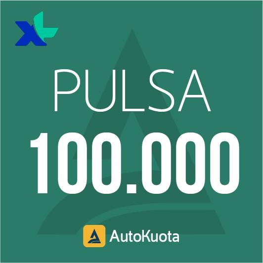 Pulsa XL - XL 100 ribu